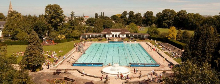 Swimming Pools With Slides In Gloucestershire Inspiration