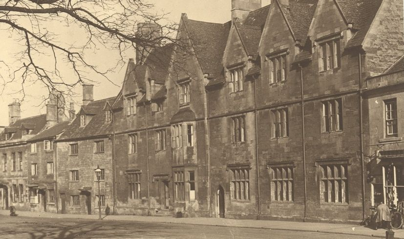 The old grammar school around 1930.