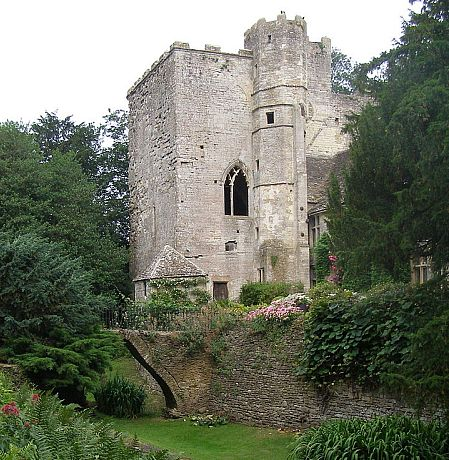 Beverstone Castle, near Tetbury, is among the more battle-worn castles in England.