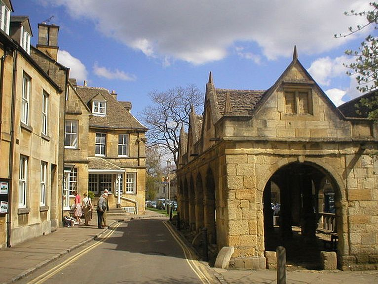 The Market Hall is one of the architectural jewels of Chipping Campden.