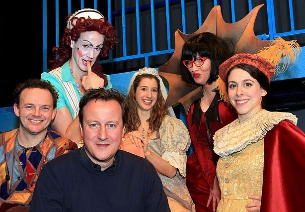 Former Prime Minister David Cameron regularly enjoyed popping up the road with his family to see the Christmas panto at his local theatre.