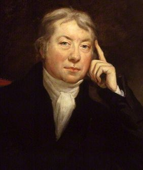 A portrait of Edward Jenner by James Northcote.