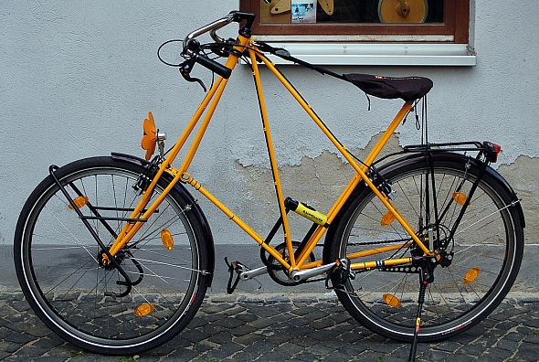 A modern-day Pedersen bicycle.