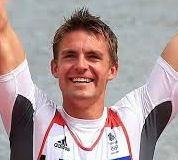 Olympic rowing champion Peter Reed grew up in the Cotswolds.