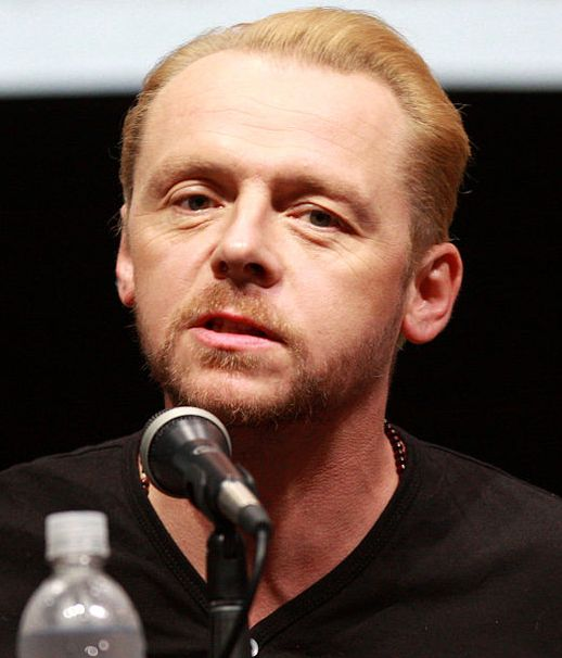 The actor, comedian, screenwriter and producer Simon Pegg was born in Brockworth, Gloucestershire.