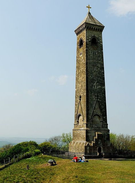 The Tyndale Monument above North Nibley can be seen for miles around.