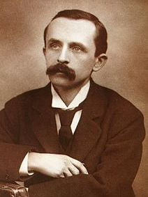 J M Barrie, author of Peter Pan, pictured in 1890.