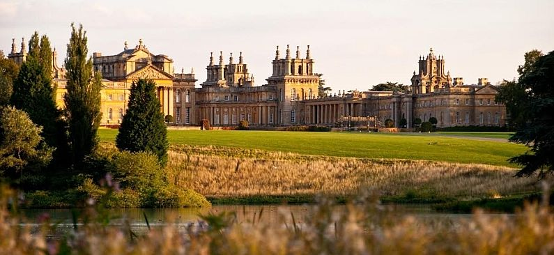 Blenheim Palace has provided the setting for a number of major films.