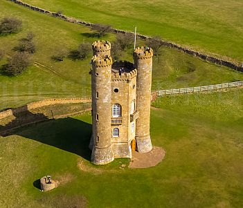 Broadway Tower was used as a location for the 2001 movie Crush. Picture Rogue State Media.