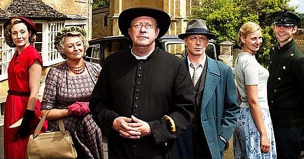 Father Brown, starring Mark Williams, has been filmed at a variety of locations around the Cotswolds.