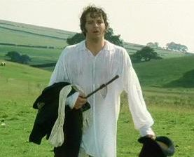 "The scene from the 1995 TV adaptation of Pride and Prejudice featuring Colin Firth, as Mr Darcy, emerging from a swim in a lake is recognised as ""one of the most unforgettable moments in British TV history""."