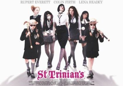 The 2007 version of St Trinian's featured the fictional anarchic girls' school taking on Cheltenham Ladies College in a hockey match, with the St Trinian's new girl Annabelle Fritton played by former Cheltenham pupil Talulah Riley.