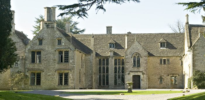 Chavenage House, near Tetbury, an extremely popular film location, featured in the TV sitcom Grace and Favour, a spin-off from Are You Being Served?