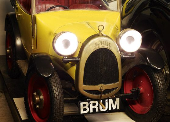 Brum lives at the Cotswold Motoring Museum.