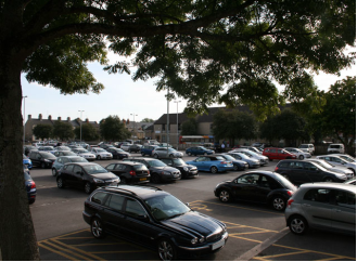 The Forum car park in Cirencester, which is being refurbished.