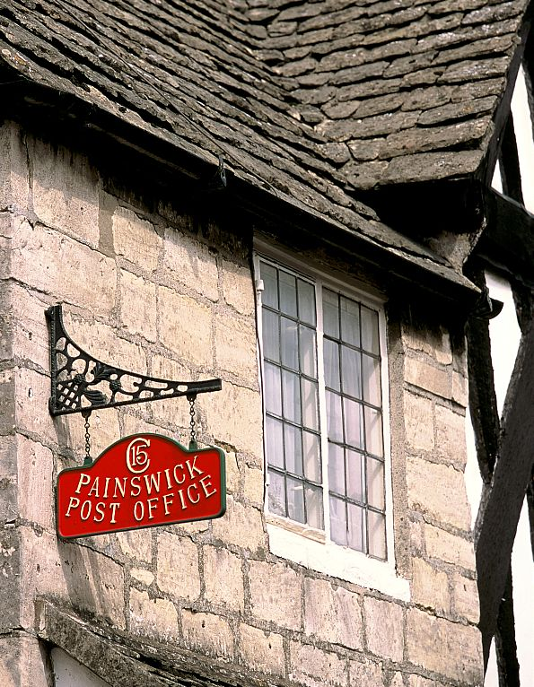 Painswick is home to the oldest building in England to house a post office. Picture © Cotswolds Conservation Board.