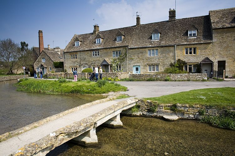 Lower Slaughter: The word 'Slaughter' is thought to come from the Old English word 'slohtre', meaning slough or boggy place. Picture by Nick Turner/Cotswolds Conservation Board.