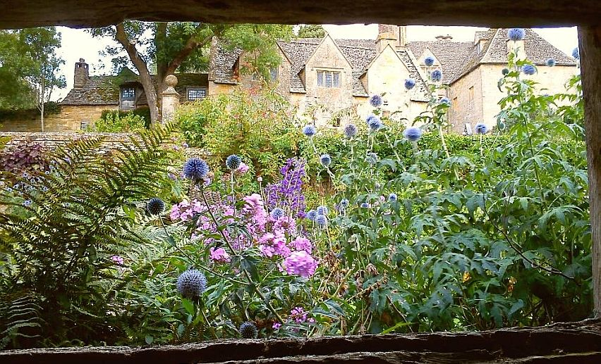A view of Snowshill Manor taken by visitor Peter Dixon in the summer of 2014.