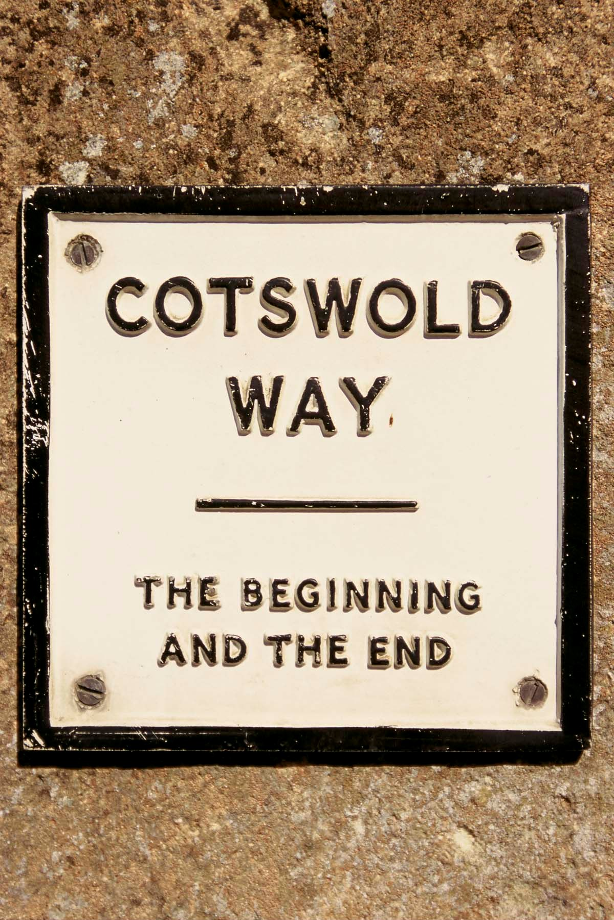 The Cotswold Way begins and ends in Chipping Campden AND Bath...depending which end you start. Picture © Cotswolds Conservation Board