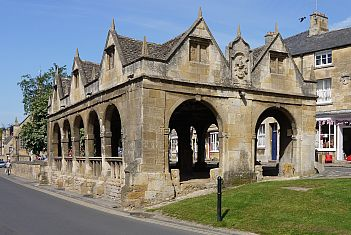 Chipping Campden's Market Hall was nearly sold to an American in the 1940s.
