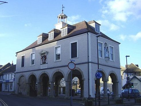 Dursley's Market House, built in 1738, was used for regular markets and fairs.