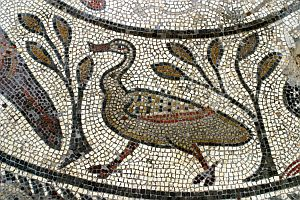 Part of the Orpheus Mosaic.