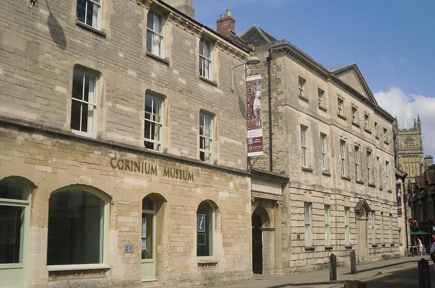 The outside of the Corinium Museum in Park Street, Cirencester.