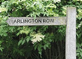 Arlington Row is one of the most popular places to visit in the Cotswolds.