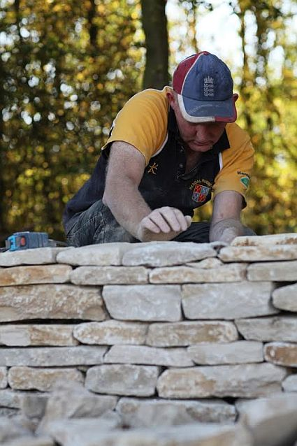 Dry stone walling is a real art.