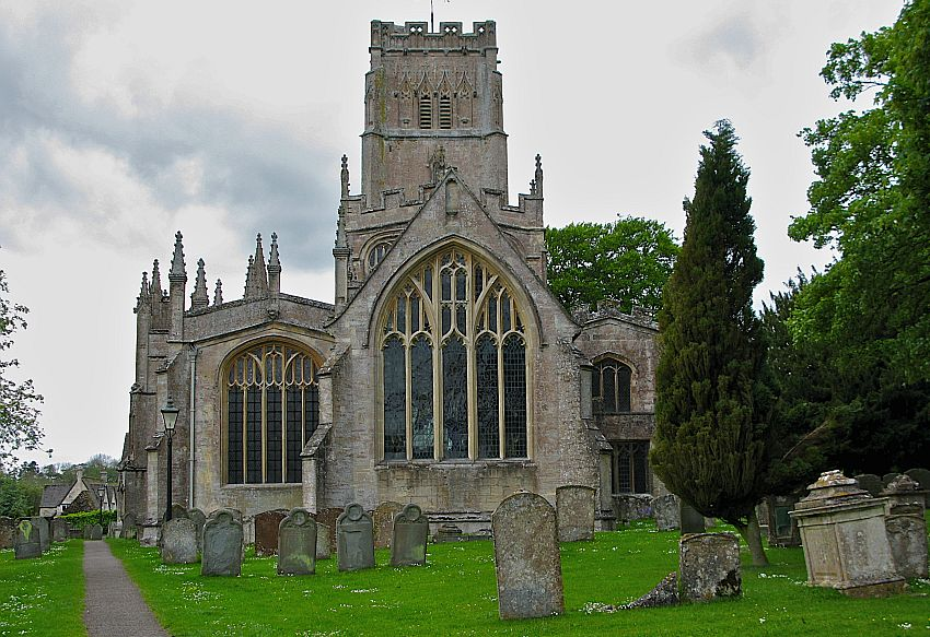 The Church of St Peter & St Paul, Northleach. Picture courtesy of Cotswolds Conservation Board.
