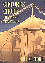 "The cover of Nell Gifford's book ""Giffords Circus - The First Ten Years"", which was released in May 2014."