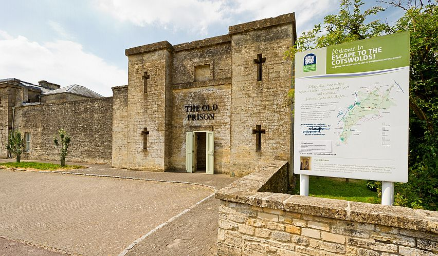 The Old Prison, just outside Northleach, has a rich history. Pictures courtesy Cotswolds Conservation Board.