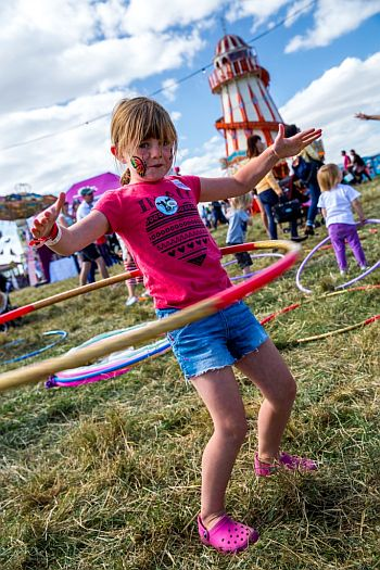 The Big Feastival is very much a family festival with plenty for the children to do as well.