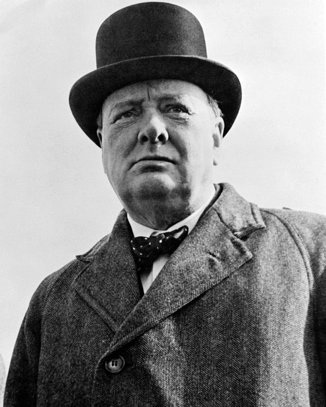 Sir Winston Churchill was born at Blenheim Palace in 1874.