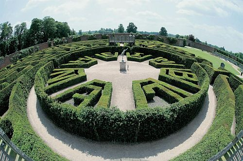 The Marlborough Maze in the grounds of Blenheim Palace.