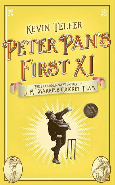 Peter Pan's First XI is a book about the cricketing passion of J M Barrie and other famous authors who made up his team.