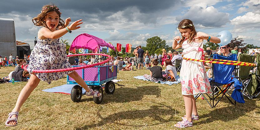 Children are in their element at Cornbury...and the grown-ups manage to have a pretty good time too.