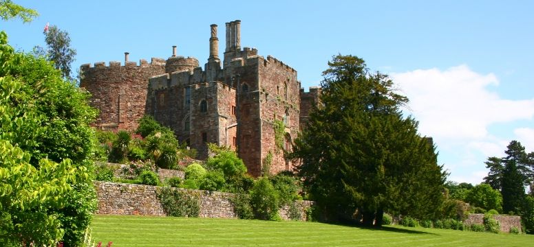 Berkeley Castle is thought to have been the scene of the murder of King Edward II.