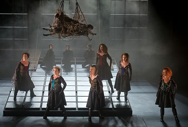 A performance of Die Walküre, by the German composer Richard Wagner, at Longborough.