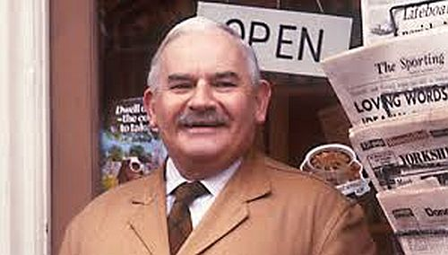 Ronnie Barker, pictured here playing shopkeeper Albert Arkwright in the popular TV series Open All Hours, opened an antiques shops in the Cotswolds after retiring from his acting career.