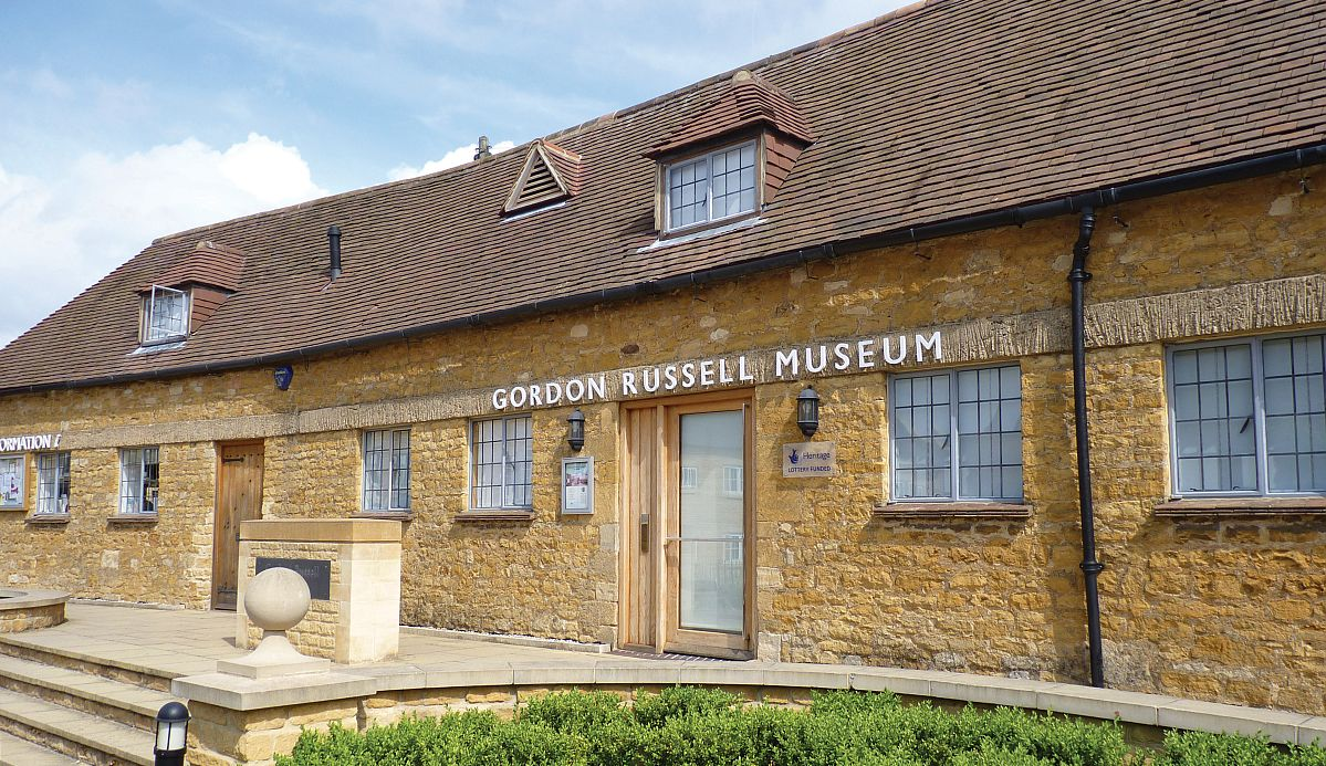 The Gordon Russell Design Museum opened in 2008 in the famous furniture designer's former workshop in Broadway.
