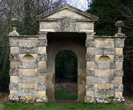 Pope's Seat, named after the 18th Century English poet Alexander Pope, of whom Lord Bathurst was a patron, is one of a number of follies in Cirencester Park.