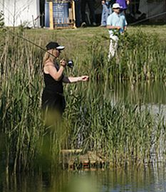 There's a great variety of places to fish in the Cotswolds.