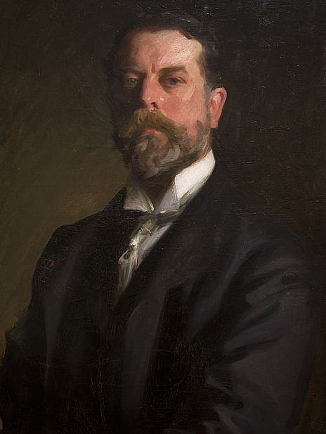 The American-born painter John Singer Sargent, the inspiration for the Broadway Arts Festival.