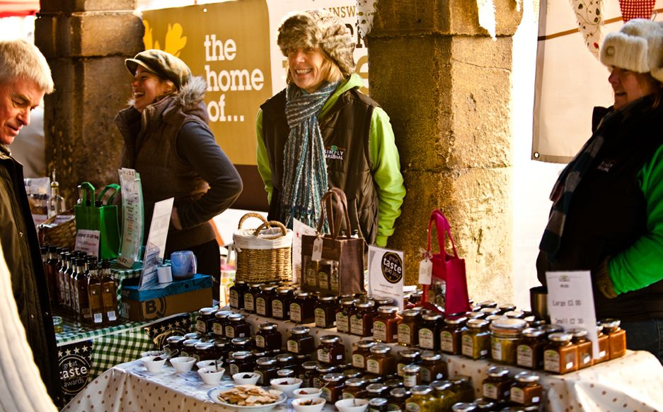 Food and drink festivals provide a great chance for local producers to promote all manner of produce to local people.