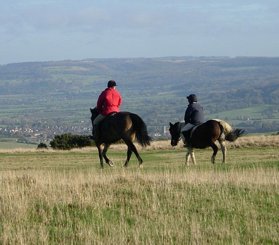 Not many places in the UK beat the Cotswolds for horse riding. Picture © Cotswolds Conservation Board
