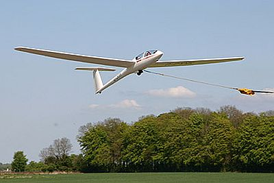 Gliding is another great way to get an aerial view of the Cotswolds.