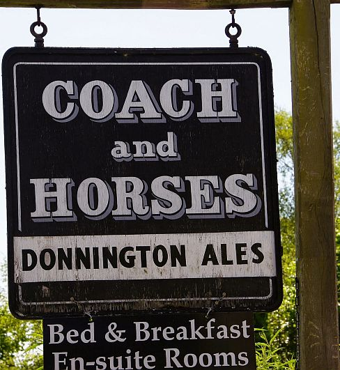 This is possibly the most popular pub name in the Cotswolds. There are actually three Coach & Horses inns within a few miles of each other in the north Cotswolds, at Ganborough, Longborough and Bourton-on-the-Water. Picture © Julia Lindop