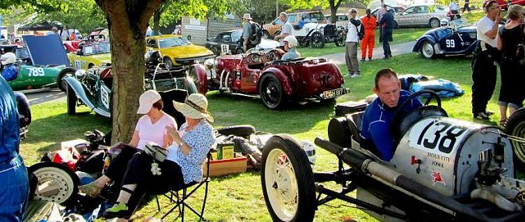 A relaxed scene from the American Weekend held at Prescott in 2011.