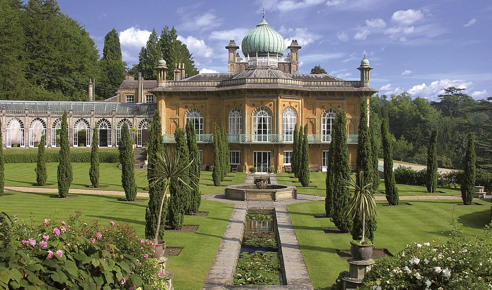 Sezincote House, with its Indian style of architecture, was the inspiration for the Brighton Pavilion.